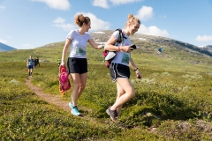 Start Polärskog Trail