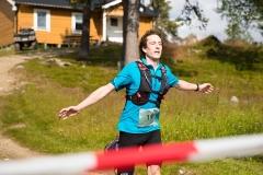 Finish Kungsfjäll Trail