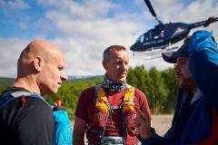 Naar de start van de Polärskog Trail