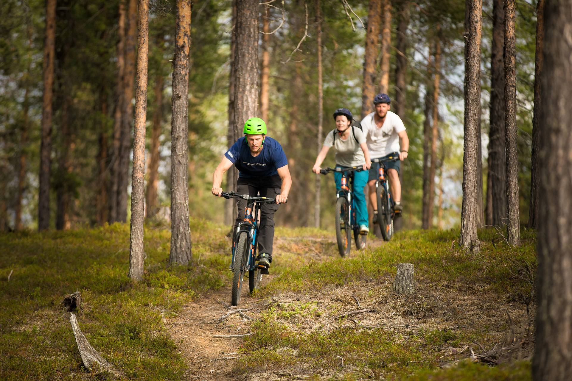 Mountainbiken Lapland